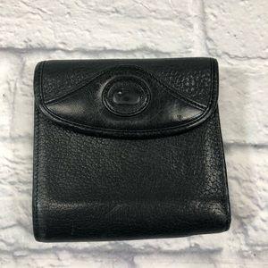 Vintage Dooney & Bourke leather wallet. *